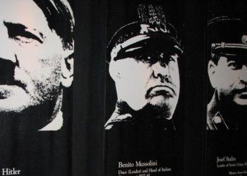 FOTO: Hitler, Mussolini, Staljin (AUCKLAND CITY WAR MEMORIAL MUSEUM/ CC BY-ND 2.0)