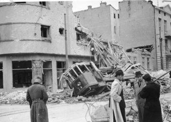 FOTO: Beograd nakon bombardiranja 1941. (Bundesarchiv)