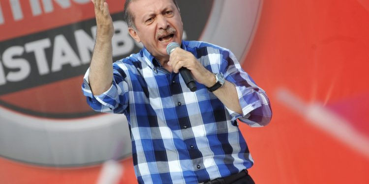 FOTO: Erdogan (OZAN KOSE/AFP/Getty Images)