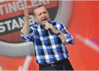 FOTO: Erdogan (OZAN KOSE/AFP/Getty Images)