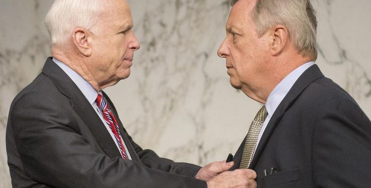 FOTO: John McCain (Ron Sachs/DPA/PIXSELL)