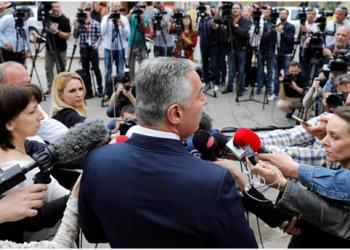FOTO: Đukanović (REUTERS)