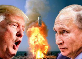 FOTO: Trump, Putin (Wikipedia/FAH/EPA/TBT)
