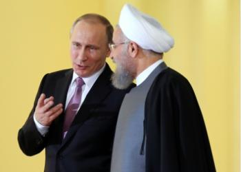FOTO: Putin, Rouhani (AFP)