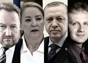 FOTO: B. Izetbegović, S. Izetbegović, Erdogan, Bukvić (Public)