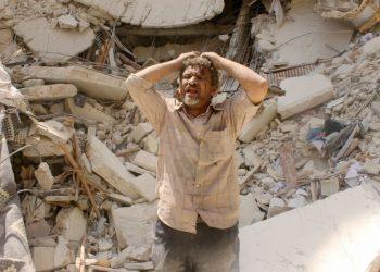FOTO: (Tamer al-Halabi/Agence France-Presse via Getty Images)