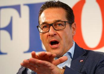 FOTO: Strache (REUTERS/HEINZ-PETER BADER)