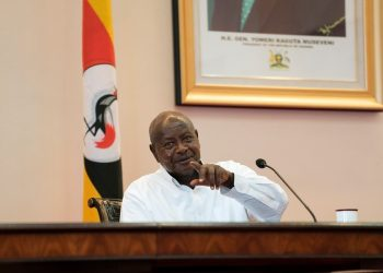 FOTO: Museveni (Profimedia/AFP)
