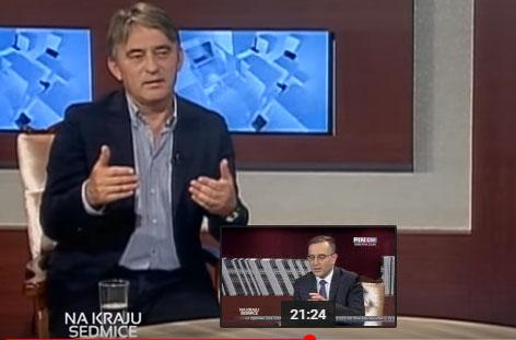 FOTO: Komšić (Screenshot)