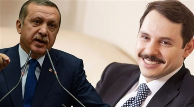 FOTO: Erdogan, Albayrak (Grapihic/birgun)