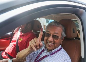 FOTO: Mahathir (EPA)
