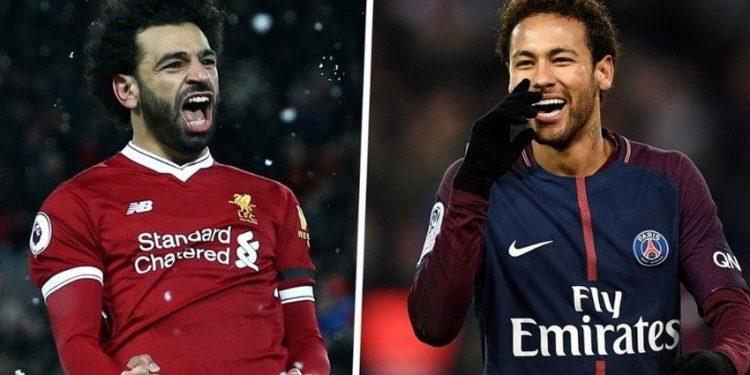 FOTO: Neymar, Salah (public)
