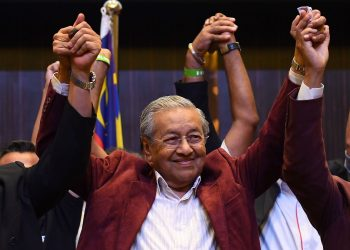 FOTO: Mahathir (AFO, Getty images)