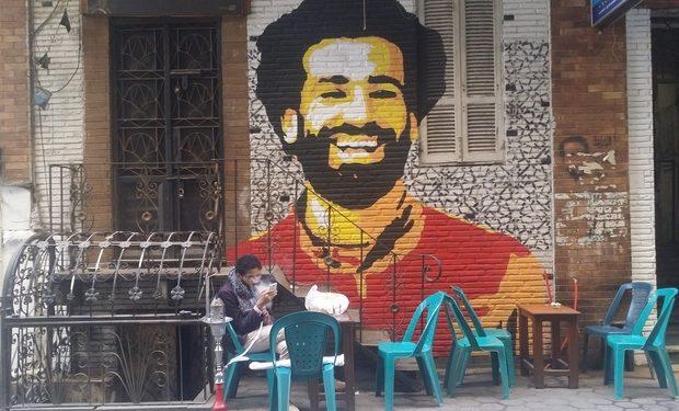 FOTO: Mural u Kairu (MEE/Mohamed Ismail)