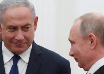 FOTO: Netanyahu, Putin (POOL/REUTERS)