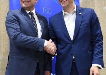 FOTO: Tsipras, Zaev (EPA)