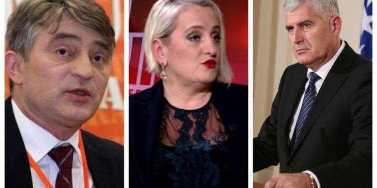 FOTO: Komšić, Zelenika, Čović (SB)