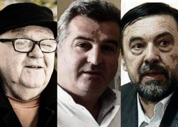 FOTO: Sidran, Kacila, Mijović (Graphic TBT)