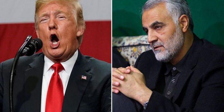 FOTO: Trump, Sulejmani (Joshua Roberts / REUTERS)