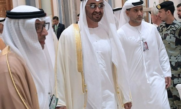 FOTO: Mohammed bin Zayed (AFP)