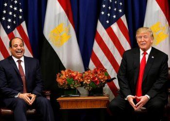 FOTO: Sisi, Trump (Reuters)