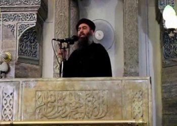 FOTO: Abu Bakr al-Baghdadi (REUTERS)