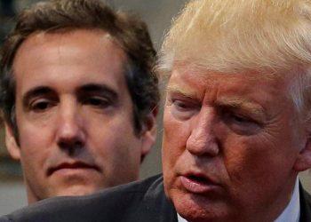 FOTO: Michael Cohen, Donald Trump (JONATHAN ERNST/REUTERS/PIXSELL)