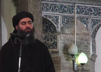 FOTO: Abu Bakr Al Baghdadi (Youtube)