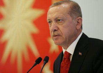 FOTO: Erdogan (Murat Kula/Presidential Palace/Handout / REUTERS)