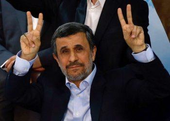FOTO: Mahmoud Ahmadinejad (AFP PHOTO / ATTA KENARE)
