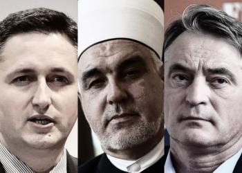 FOTO: Komšić, Kavazović, Bećirović (Graphic TBT)