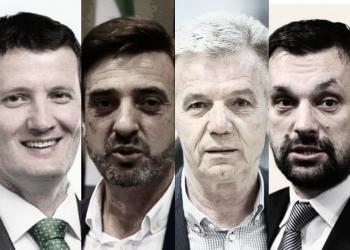 FOTO:Šepić, Hozanović, Kukić, Konaković (Graphic TBT)
