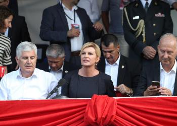FOTO: Čović, Grabar- Kitarović (IVO ČAGALJ/PIXSELL)