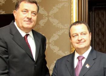 FOTO: Dačić, Dodik (DPA/PIXSELL)