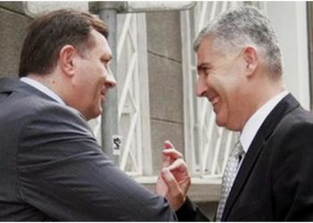 FOTO: Dodik, Čović (Index.hr)