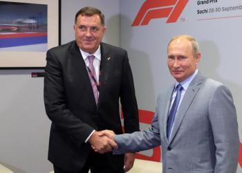 FOTO: Dodik, Putin (SPUTNIK/REUTERS/PIXSELL)