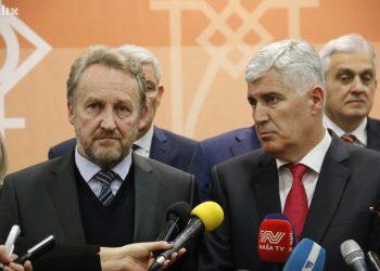 FOTO: Izetbegović, Čović (R. D./Klix.ba)