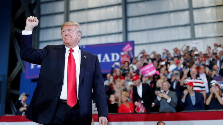 FOTO: Trump (CARLOS BARRIA/REUTERS/PIXSELL)