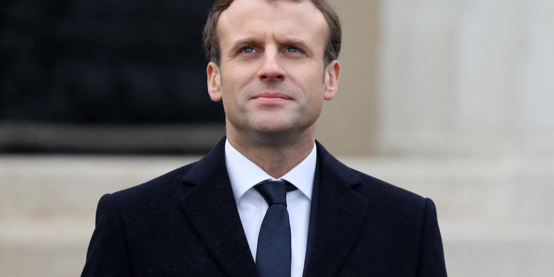FOTO: Emmanuel Macron (LUDOVIC MARIN/AFP/Getty Images)