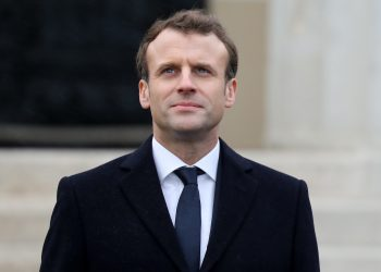 FOTO: Emmanuel Macron (LUDOVIC MARIN/AFP/Getty Images)