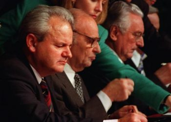 FOTO: Potpisivanje Daytonskog sporazuma (U.S. AIR FORCE/STAFF SGT. BRIAN SCHLUMBOHM)