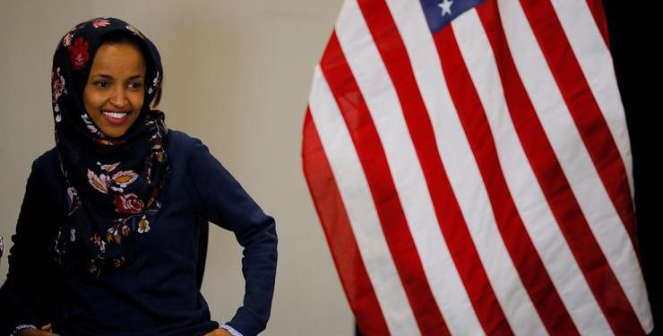 Ilhan Omar, američka članica Kongresa (BRIAN SNYDER/REUTERS/PIXSELL)