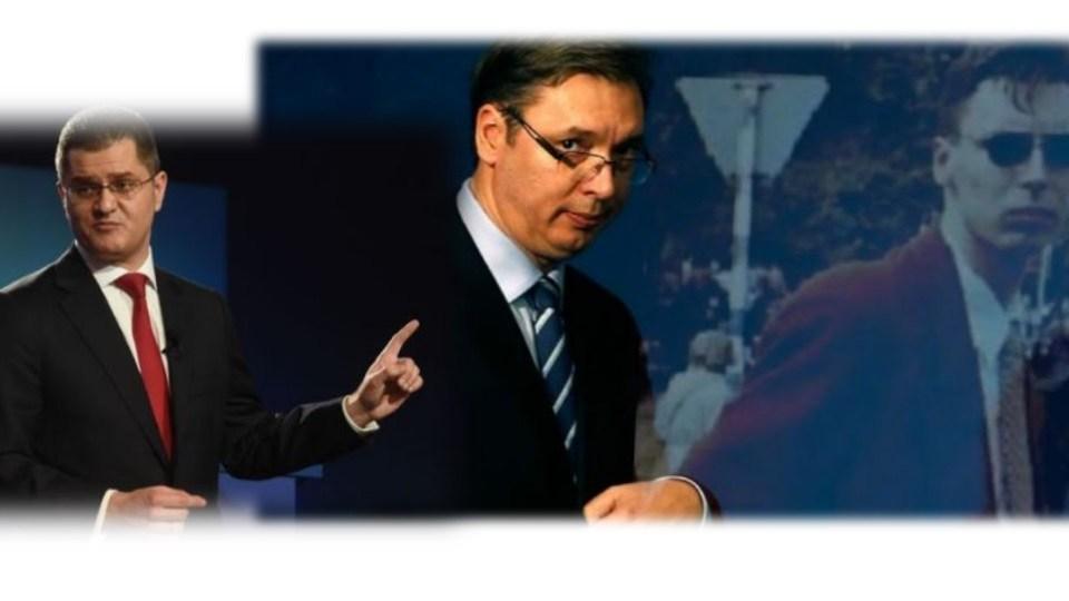 FOTO: Jeremić, Vučić ( Ilustracija/ Balkanska)