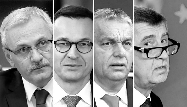 FOTO: Babiš, Orban, Moravjecki, Draganea (RAS SRBIJA)