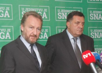 FOTO: Izetbegović, Dodik (SDA)