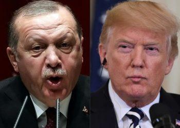 FOTO: Erdogan, Trump (AFP)