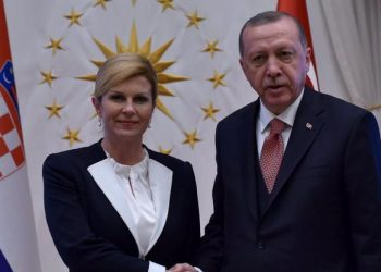 FOTO: Grabar- Kitarović, Erdogan (Twitter)