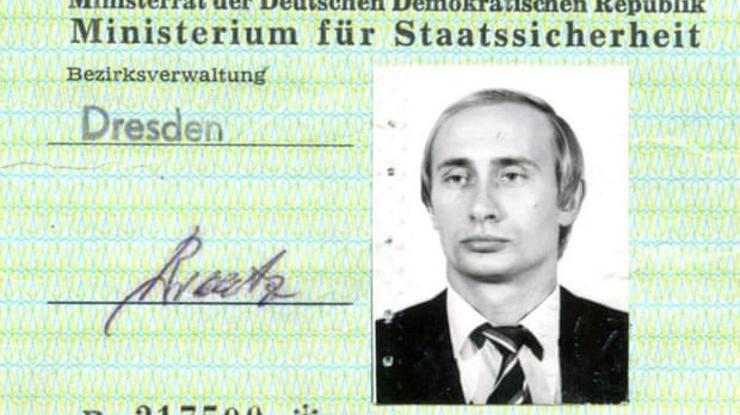 FOTO: Vladimir Putin iskaznica (SCREENSHOT)