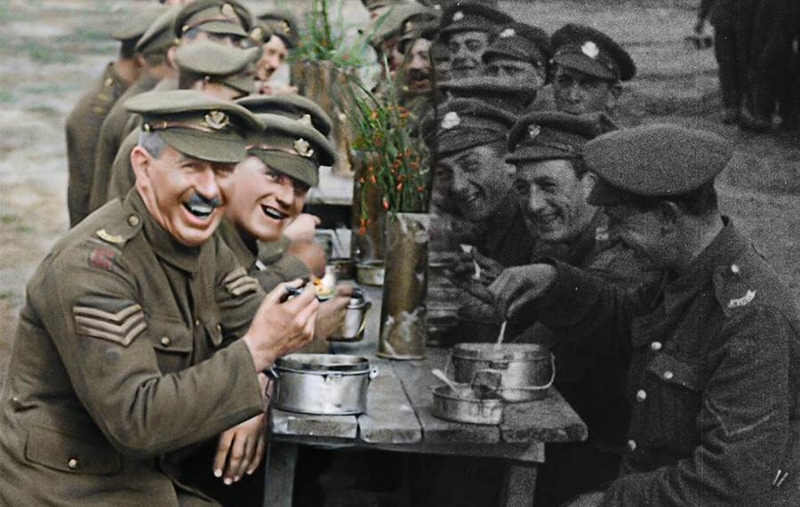 FOTO: ('They shall not grow old')