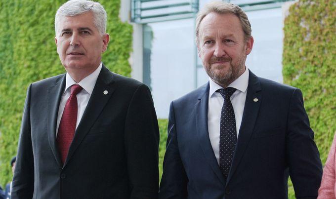 FOTO: Čović, Izetbegović (Reuters)
